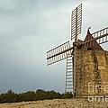 Windmill, France by John Shaw