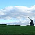 Windmill In Southern England by Alex Zorychta