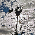 Windmill In The Clouds by Cathy Anderson