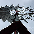 Windmill In The Clouds by Karen Adams