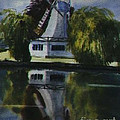 Windmill In The Willows by Martin Howard
