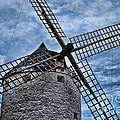 Windmill Of La Mancha by Alexandra Jordankova