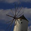 Windmill On Santorini Island  by Colette V Hera  Guggenheim