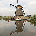 Windmill Reflection by Phyllis Taylor
