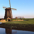 Windmill, Schermerhorn, Netherlands by Panoramic Images