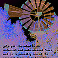Windmill With Lincoln Quote by Barbara Snyder