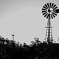 Windmills Now And Then by William Tegtmeyer