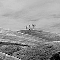 Windmills On The Hill by Maggy Marsh