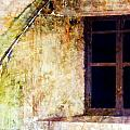 Window - Water Color - Fort by Marie Jamieson