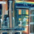 Window Abstract by Katherine  Berlin