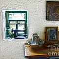 Window And Little Dressing Table In An Old Thatched Cottage by RicardMN Photography