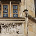 Window And Relief Palace Ducal by Christiane Schulze Art And Photography