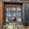Window At Old Santa Fe by Kurt Van Wagner