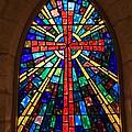 Window At The Little Church In La Villita by Carol Groenen