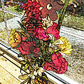 Window Flowers by Luther Fine Art
