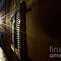 Window In An Alley With Sunlight by Mats Silvan