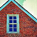 Window In Brick House by Jill Battaglia