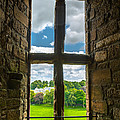 Window In Linlithgow Palace With View To A Beautiful Scottish Landscape by Andreas Berthold