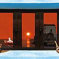 Window Into Greece 4 by Eric Kempson
