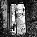 Window Of Haunted Abbey by Diana Haronis