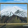 Window To The Popocatepetl A Mexican Volcano. by Erendira Hernandez