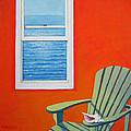 Window To The Sea No. 1 - Seashell by Rebecca Korpita