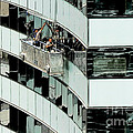 Window Washers by Jan Stephens