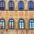 Windows In Florence by Caroline Stella