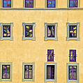 Windows Of Florence by David Letts