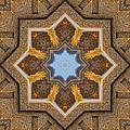 Windows To Autumn Mandala 3 by Beth Sawickie