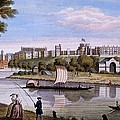 Windsor Castle From Across The Thames by English School