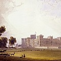 Windsor Castle From The South End by William Daniell
