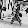 Windsor Elliot Walking Toward An Apartment by Jack Robinson