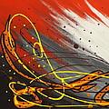 Windsurfer Left by Darren Robinson