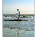 Windsurfing Art Poster - California Collection by Ben and Raisa Gertsberg