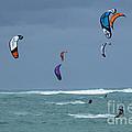 Windsurfing Hawaii by Bob Christopher