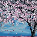 Windswept Blossoms by Cathy Jacobs