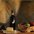 Wine And Cheese 1 by Paulette B Wright