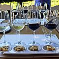 Wine And Cheese Tasting by Kurt Van Wagner