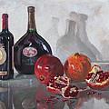 Wine And Pomegranates by Ylli Haruni