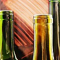 Wine Bottles 2 by Sarah Loft