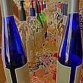 Wine Bottles by Caroline Stella