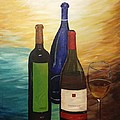 Wine Bottles by Shea Temples