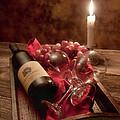 Wine By Candle Light I by Tom Mc Nemar