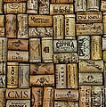 Wine Corks After The Wine Tasting by Paul Ward