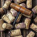 Wine Corks Celebration by Garry Gay