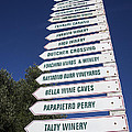 Wine Country Signs by Garry Gay