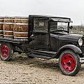Wine Delivery Truck by Debby Richards