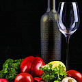 Wine For A Salad by Elaine Plesser