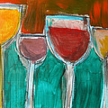 Wine Party 3 by Rhodes Rumsey